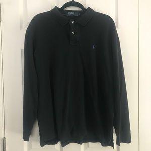 Ralph Lauren Men's Long Sleeve Polo SZ L